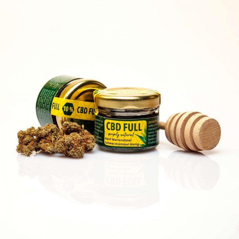 CBD Full Honig 10%  - mit Mariendistel und Schwarzkümmel