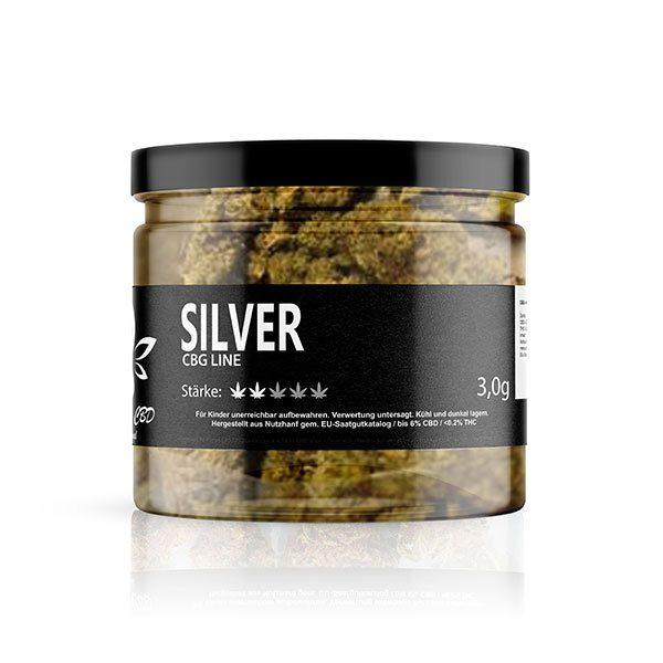 Natural-CBD-Original-Silver-CBG-Blueten-3-gramm-Glas